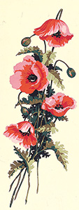 SEG de Paris Needlepoint - Poppies