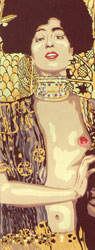 SEG de Paris Needlepoint - Small Needlepoint Canvases - Judith by Klimt