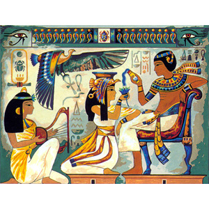SEG de Paris Needlepoint Nile Offering Canvas