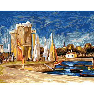 SEG de Paris Needlepoint - La Rochelle by Renoir