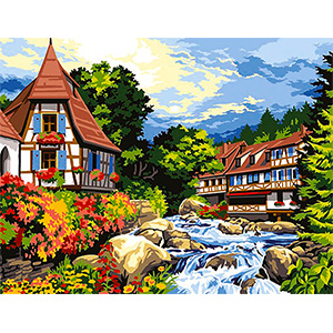 SEG de Paris Needlepoint - Alsace