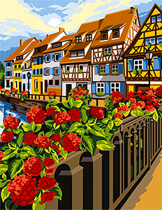 SEG de Paris Needlepoint - Colmar
