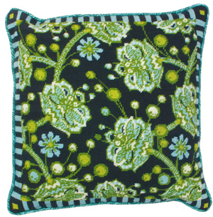 Bees Knees Needlepoint Cushion Kit from the Anchor Living Collection