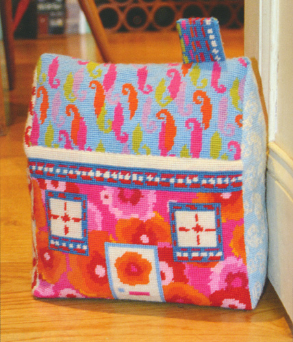 Merry Go Round Needlepoint Doorstop Kit by Nel from the Anchor Living Collection