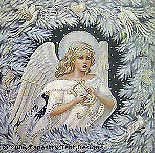 Enchanted Angel Cushion/Picture - Canvas Only