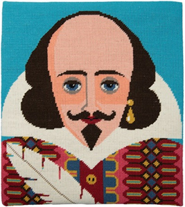 Shakespeare Needlepoint Kit from Appletons
