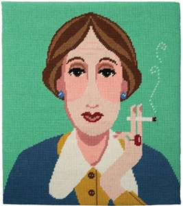 Virginia Woolf Needlepoint Kit from Appletons