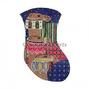 Camels Needlepoint Mini Stocking