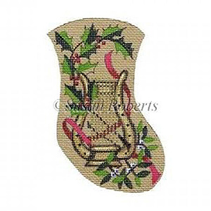 Victorian Harp Needlepoint Canvas