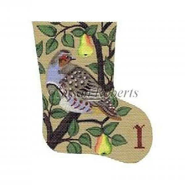 Partridge - Day 1 Needlepoint Canvas