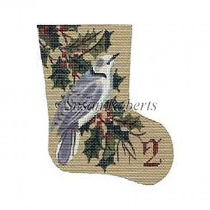 Turtle Dove - Day 2 Needlepoint Canvas