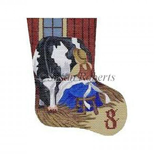 Maids Milking - Day 8 Needlepoint Canvas