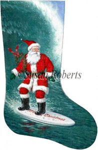 Santa Surfer - 13 Count