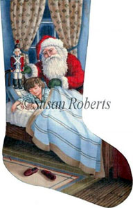Special Delivery (Boy) Needlepoint Stocking Canvas