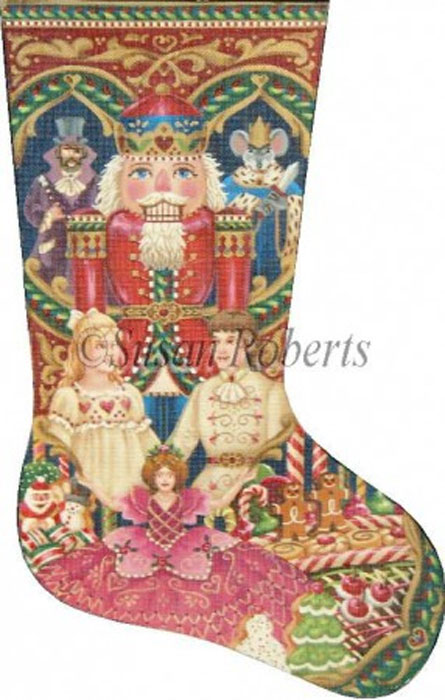 the nutcracker suite needlepoint stocking canvas tap to expand