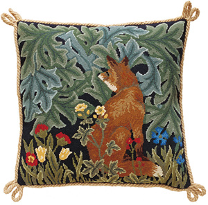 Beth Russell Needlepoint - Forest Collection - Fox Cushion - Kit