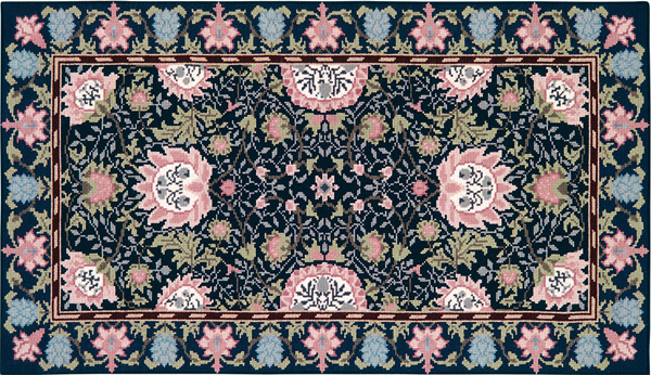 Beth Russell Needlepoint - Holland Park Rug - Kit