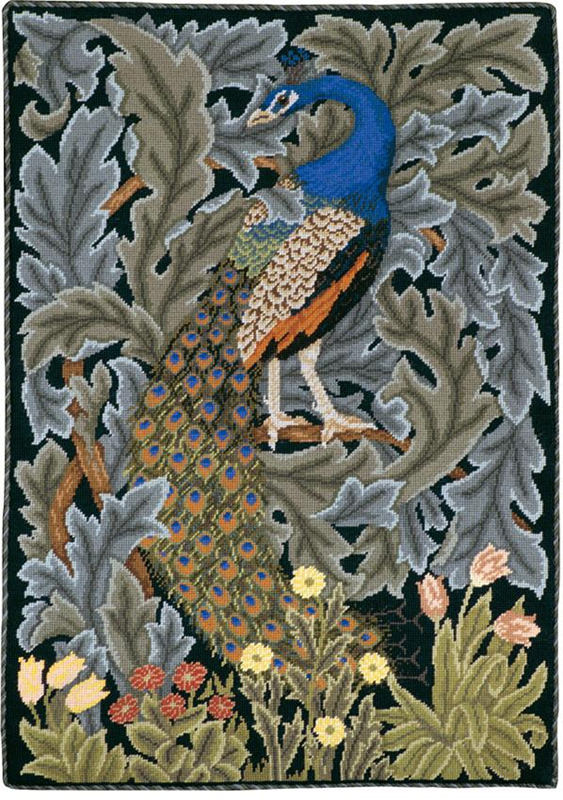 Beth Russell Needlepoint - Forest Collection - Peacock Firescreen/Picture/Hanging - Kit