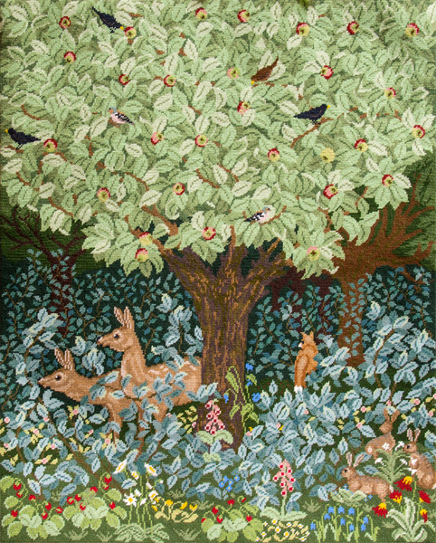 Beth Russell Needlepoint - Woodland Tapestry