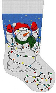 Awe Inspiring Hand Painted Needlepoint Canvases And Kits From Needlepointus Easy Diy Christmas Decorations Tissureus