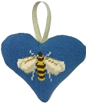 Bee Needlepoint Ornament Kit