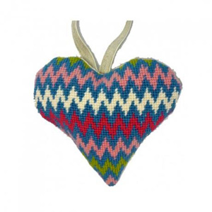 Bargello Needlepoint Ornament Kit