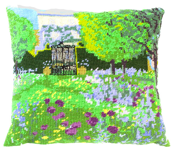 Highgrove House Needlepoint Herb Cushion Kit