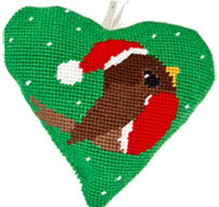Robin Needlepoint Ornament Kit