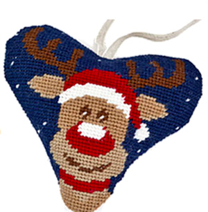 Rudolph Needlepoint Ornament Kit