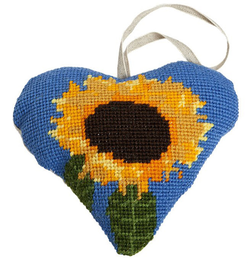 Sunflower Needlepoint Ornament Kit