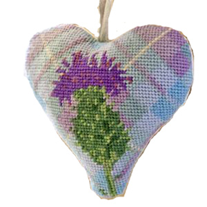 Thistle Needlepoint Ornament Kit