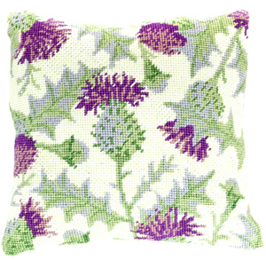Thistle Needlepoint Herb Cushion Kit