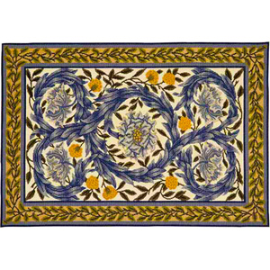 Beth Russell Needlepoint - African Marigold Collection - African Marigold Rug - Kit