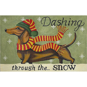 Dachshund - Winter