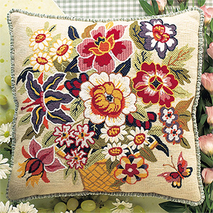 Glorafilia Needlepoint - Virginia Cushion Kit