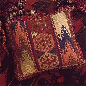 Glorafilia Needlepoint - Terracotta Cushion Kit