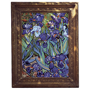 Glorafilia Needlepoint - Irises Tapestry Kit