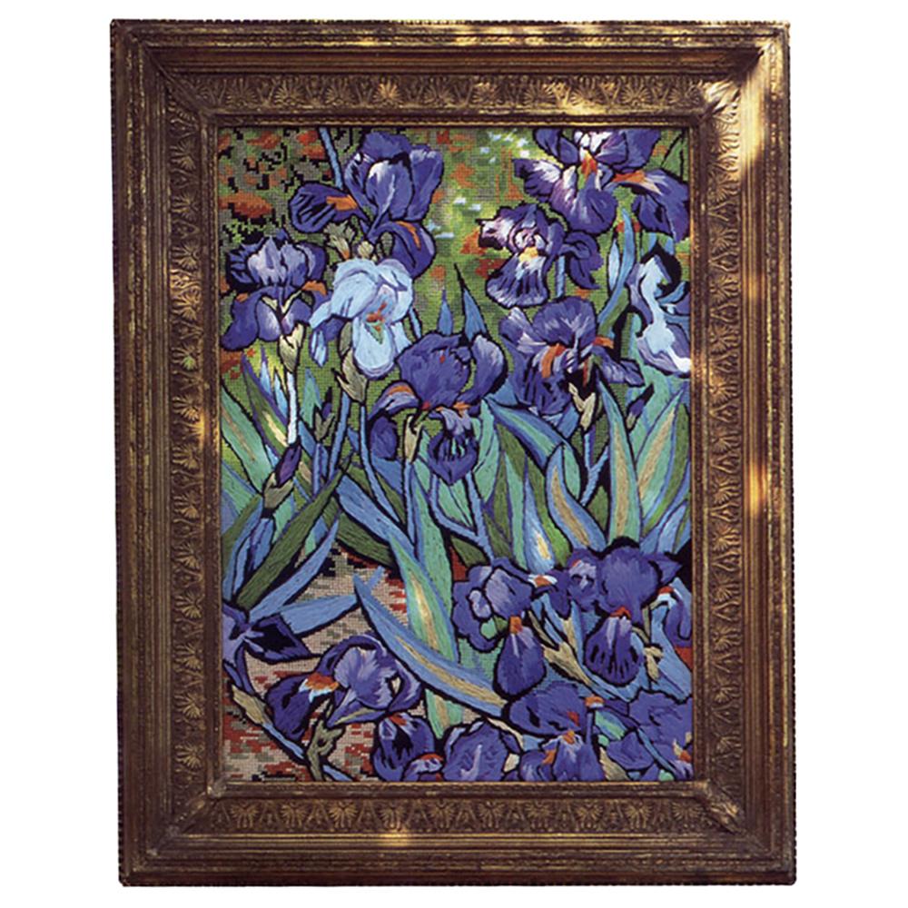 Needlepointus Glorafilia Needlepoint Irises Tapestry Kit Tapestry Kits Gl492