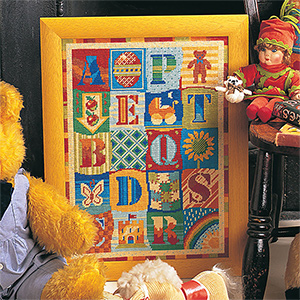 Glorafilia Needlepoint - Alphabet Kit