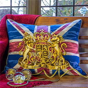 Glorafilia Needlepoint - Union Jack Cushion Kit