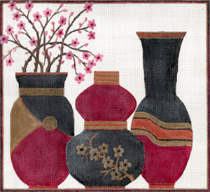 Cherry Blossoms Vases by Sharon G