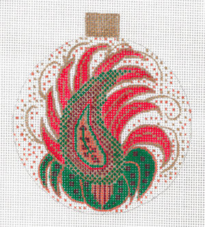 Paisley Ornament by Sharon G
