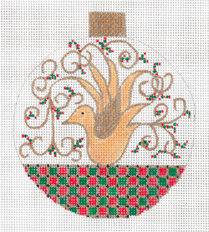 Dove Ornament by Sharon G