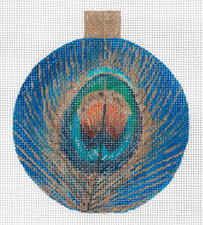 Peacock Ornament by Sharon G