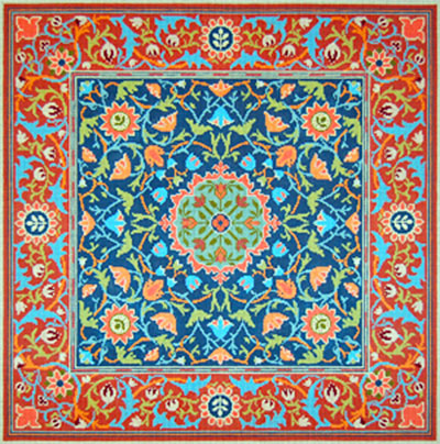 Hand Painted Needlepoint Rug Canvases