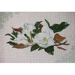 The Magnolias Hand Painted Canvas