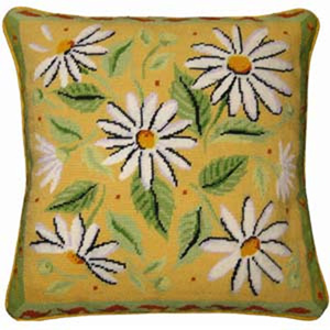 Yellow Daisies Cushion Kit