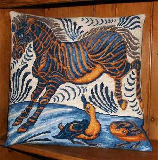 Zebra and Ducks Tapestry Kit from Millennia Designs
