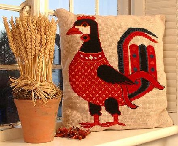 Persian Cockerel Cushion Kit
