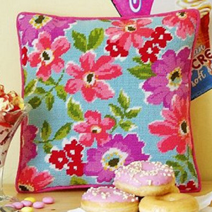 Holkham Anemonies Cushion Kit